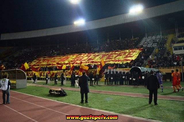 Göztepe - Karşıyaka Maçı Forza Göztepe
