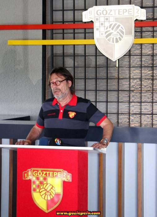 Göztepe Spor Kulübü Başkanı Mehmet Sepil