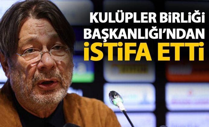 Mehmet Sepil, Kulüpler Birliği Başkanlığı'ndan istifa etti!